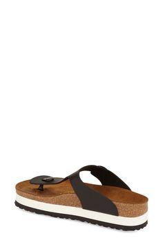 Papillio by Birkenstock 'Gizeh' Birko-Flor Platform Flip Flop Sandal