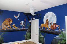 Lion King Room, Lion King Nursery, Lion King Baby, Baby Room Themes, Baby Boy Rooms, Baby Room Decor, Kids Wall Murals, Murals For Kids, Kids Bedroom Designs