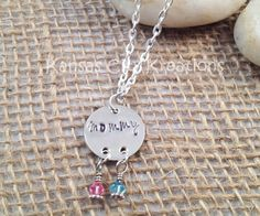 Dream Catcher Mom Mommy Hand-Stamped by KansasCityKreations