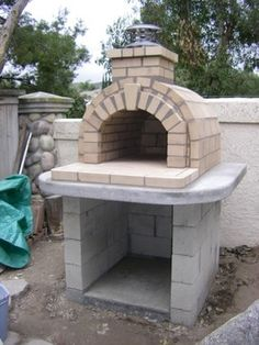 Backyard Pizza Oven Plans Design Ideas, Pictures, Remodel, and Decor - page 11