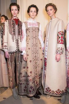 Paris Fashion Week: Backstage at Valentino Haute Couture Spring 2015