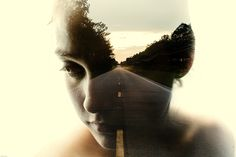 Double Exposure Photography by Brandon Kidwell | Abduzeedo Design Inspiration