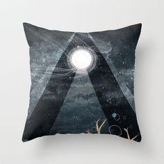 The Unsleeping Dream Throw Pillow by Sandra Dieckmann - $20.00