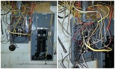 Defective or Dangerous Electrical Wiring - Help Repair My house Electrical Wiring Diagram, Electrical Work, Wet Floor, Porsche, Cord Cover, Electric Shock, Light Fittings, Home Repair, Being A Landlord