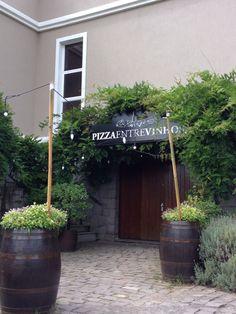 Pizza entre vinhos Vale dos vinhedos - Bento Gonçalves -RS
