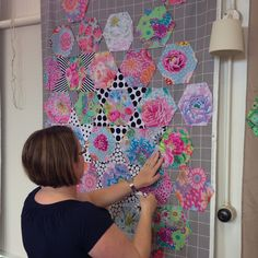 Wendy's quilts and more: Kaffe Fassett class in Wellington - January 2016