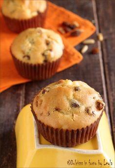 muffin allo strudel con mele limone e cannella