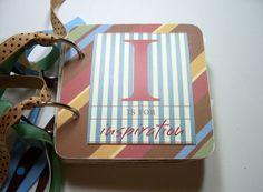 Inspiration Mini Scrapbook Album Family Mini by HampshireRose, $25.00