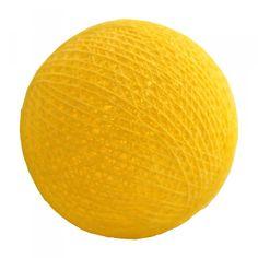Ljusslinga bollar - Yellow (Nr24)