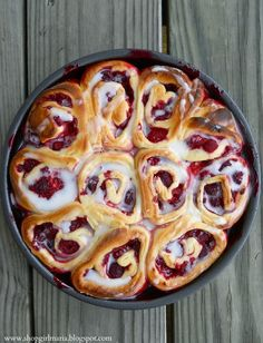 Raspberry Swirl Rolls, perfect for the holidays, I'm definitely making these!
