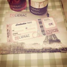Πάμε Παρίσι? Πάτε Παρίσι!! Με κάθε όμορφη αγορά σου στη Lierac, μην ξεχάσεις να μπεις στο www.lierac.gr/40Years να περάσεις το/τα barcodes του προιόντος ή των προιόντων που αγόρασες! Έτσι λαμβάνεις τόσες συμμετοχές όσες και τα προιόντα για να κερδίσεις το μαγικό εισιτήριο για Παρίσι Καλή Επιτυχία  #40ΧρόνιαΟμορφιάς #Διαγωνισμός #LieracHellas #OmorfiaPantou Date, Paris France, Beauty News, Hair Beauty, My Love, Cute Hair
