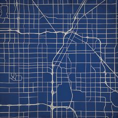 Las Vegas, Nevada - City Prints Map Art