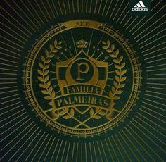 """Amigo palestrino, a Adidas está dando o pontapé inicial para as comemorações do centenário do Palmeiras e pretende formar a maior família do mundo: a """"Família Palmeiras"""", a nossa famíli…"""