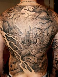 Tattoo Artist - Johan Finné | www.worldtattoogallery.com/back_tattoos