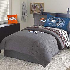 Dillons room on pinterest denver broncos snowboards and for Denver broncos bedroom ideas