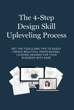 All the tools and steps to easily create beautiful graphics that make your brand stand out, look professional and consistent. Identity Design, Visual Identity, Brand Identity, Create A Brand Logo, Creating A Brand, Creative Business, Business Tips, Steps Design, Blog Design