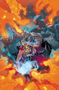 Thor #21 - Russell Dauterman, Colors: Matt Wilson