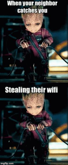 Groot is a thief!