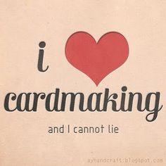 I love cardmaking (: