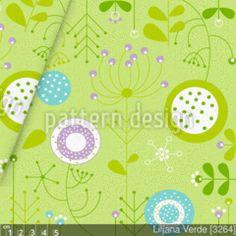 Herrlich frischer Blumenstoff mit stilisierten Fantasieblumen auf hellgrünem Hintergrund. Erstklassiger Designerstoff von Liljana Panjtar. Schöner glatter und kompakter Baumwollstoff mit leichter Elastizität (Querstretch). Verwendung: Mode und Deko Stoff - Kleidung, Accessoires oder Dekoprojekte, Kissen, Taschen, Stoffbeutel, Vorhänge, Stoff-Herze, Stoff-Knöpfe, Schürzen, Tischdecken und -läufer, Servietten, Bettrückwände, fetzige Sommerhosen, Anzüge, Raumteiler, Hussen, Übergardinen…