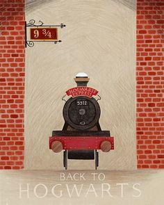 Back to Hogwarts on Behance