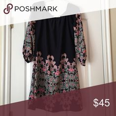 New cute dress! 100% polyester.NO TRADING FOR THIS ITEM New, no stains, no fading, smoke free home   Same day or next day shipping (depending on time and day of the week)  Discounts &  cheaper shipping on bundled items Fashionimics Dresses Midi