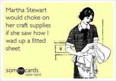 if I owned any craft supplies.... :)
