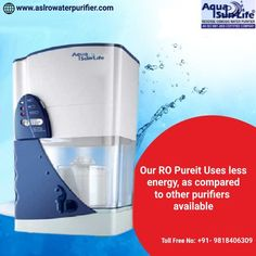 Reasons To Choose Our RO Pureit ✅Uses less energy, as compared to other purifiers available. ✅It's designed to remove contaminants and improve water's taste. ✅Very easy to install, operate and maintain. ✅Different designs and models are available. 📲: +91- 9818406309 🌐: www.aslrowaterpurifier.com 📧: aslenterprises35@gmail.com #ROPureit #Waterpurifier #purifier #filter #WaterRO #Waterfiltering #PureWater #Healthywater #AslEnterprises Kent Ro Water Purifier, Healthy Water, Water Filter, Aqua, Models, Easy, Design, Templates, Water
