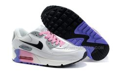 http://www.womenairmax.com/nike-air-max-90-womens-shoes-wholesale-white-gray-pink-black.html Only$89.00 #NIKE AIR MAX 90 WOMENS #SHOES WHOLESALE WHITE GRAY PINK BLACK #Free #Shipping!
