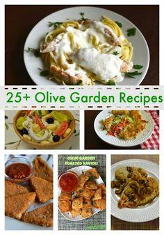 25+ olive garden recipes
