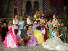 Disney Princes and Princesses!