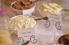Crepe Bar}Crepe Filling - White Chocolate Mousse and Cream Cheese Mousse - your homebased mom
