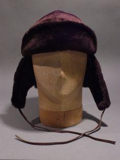 brown fur trooper-style hat