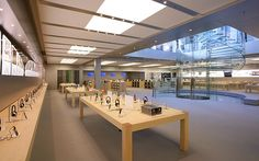 Apple Stores   interior design\NEW YORK FİFTH AVENUE   DesignRulz.com