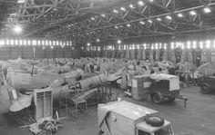 RNZAF Harvards in storage No6 hangar Wigram. Image Wings Over New Zealand