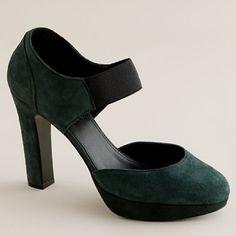 winter platform heels