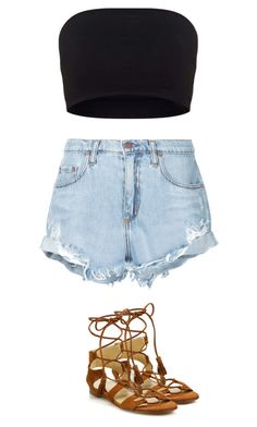 """""""Untitled #174"""" by sophraddd on Polyvore featuring Nobody Denim and Stuart Weitzman"""