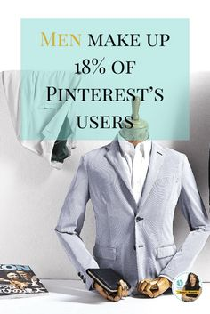 Men now make up 18% of Pinterest's users, which is a 5% jump over 2014. Click here to learn some how men and women use Pinterest for totally different reasons http://www.whiteglovesocialmedia.com/market-to-men-on-pinterest/