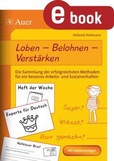 Loben   Belohnen   Verstärken   unterrichtsmaterialien24.de
