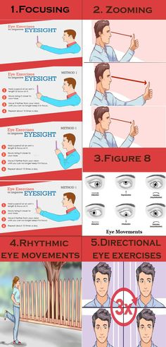 We need to make exercises for our eyes on a regular basis if we want to maintain them healthy, as eye muscles are like any other muscles in our body. #eyeexercise