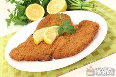 Receita de Peito de frango empanado em receitas de aves, veja essa e outras receitas aqui!