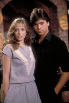 John Stamos (Blackie Parrish) and Danielle von Zerneck (Lou Swenson) - WOW! The girl who played Donna in La Bamba & John Stamos were on General Hospital together.