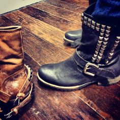 Stud boots by Steve Madden