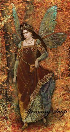 Image result for fairy pre raphaelite