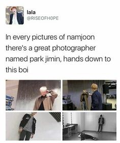 Ah! Namjoon doesnt have to hire a photographer for our wedding!