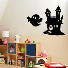Shop for Happy Halloween Stickers Vinyl Decal Sticker Interior Design Art Mural Kids Room Sticker Decal size Color Black. Halloween Wall Decor, Halloween Stickers, Happy Halloween, Art Mural, Wall Murals, Vinyl Art, Vinyl Decals, Kids Room Murals, Room Stickers
