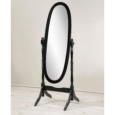 Top Product Reviews for Abbyson Radiance Round Wall Mirror   Overstock.com   15588665 Antique Floor Mirror, Round Wall Mirror, Black Mirror, Black Wood Floors, Cheval Mirror, Wood Bedroom, Bedroom Decor, Bedroom Ideas, Cool Mirrors