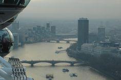 Φαντάστική Θέα από το London Eye London Eye