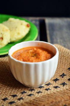 Onion tomato chutney: Spicy and delicious onion tomato chutney,best combo for idly and dosa,restaurantstyle recipe @ http://cookclickndevour.com/2014/10/onion-tomato-chutney-recipe.html
