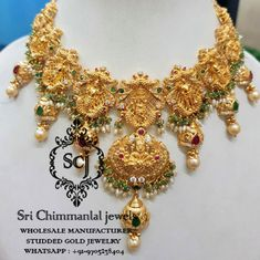 we manufacturer n supply nakshi pachi temple,diamond,c.z,uncut,latest exclusive designer jewellery with best and full value of investment in wholesale price. Jewelry Show, Jewelry Model, Jewelry Design, Kundan Jewellery Set, Gold Jewelry Simple, Wedding Jewelry, Vaddanam Designs, Necklace Set, Gold Necklace
